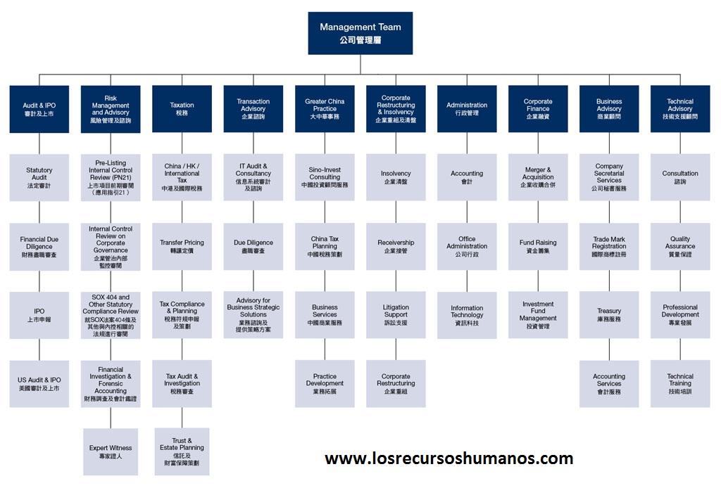 Estructura Organizacional Losrecursoshumanos Com
