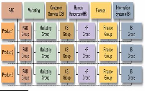 Estructura Organizacional Contemporánea Losrecursoshumanos Com